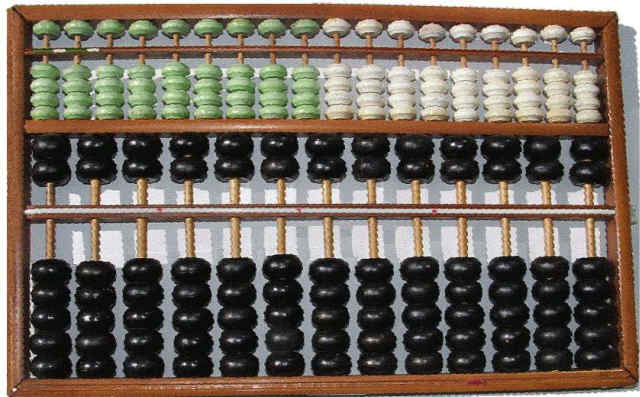 LEE KAI-CHEN Abacus Suanpan Ancient Abaci Calculator Calculating Aide