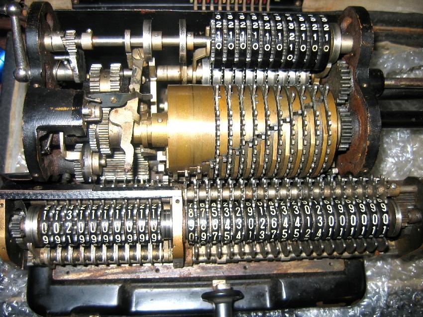 Tiger Mechanical Calculator Japanese Odhner